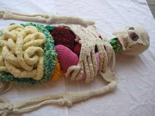 Crochet skeleton